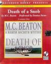 Death of A Snob - Davina Porter, M.C. Beaton