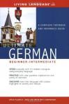 Ultimate German Beginner-Intermediate (Coursebook) (Ultimate Beginner-Intermediate) - Living Language