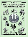 1,337 Spot Illustrations of the Twenties and Thirties - Leslie Cabarga, Leslie E. Cabarga, Leslie Cabarga
