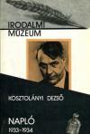 Napló 1933-1934 - Dezső Kosztolányi