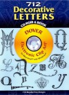 712 Decorative Letters CD-ROM and Book - Dover Publications Inc.