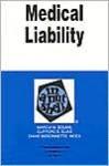 Medical Liability in a Nutshell (Nutshell Series) - Marcia Boumil, Clifford E. Elias