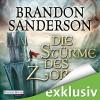 Die Stürme des Zorns (Die Sturmlicht-Chroniken 2.2) - Deutschland Random House Audio, Brandon Sanderson, Detlef Bierstedt