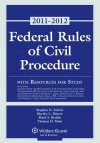 Federal Rules of Civil Procedure with Resources for Study, 2011-2012 Statutory Supplement - Subrin, Martha L. Minow, Mark S. Brodin, Thomas O. Main