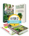 Gardening Box Set: 33 Keys For A Successful Indoor Garden + 28 Steps To Enjoying Veggies, Fruits, & Herbs All Year. 23 Exotic Fruits to Easily Grow at ... gardening, gardening, grow fruit indoors) - Elizabeth Lee, Tina May, Bertha Mills, Jody Ford