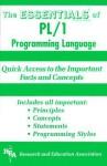 PL/1 Programming Language Essentials - Research & Education Association, Mohammad Dadashzadeh, M. Dadashzadeh