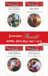 Harlequin Presents April 2016 - Box Set 1 of 2: The Sicilian's Stolen SonSeduced into Her Boss's ServiceA Diamond Deal with the GreekOne Night to Wedding Vows - Lynne Graham, Cathy Williams, Maya Blake, Kim Lawrence