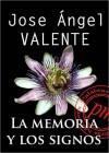 La memoria y los signos - José Ángel Valente
