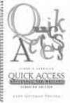 Quick Access: Reference For Writers (Canadian Edition) - Lynn Quitman Troyka