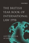 The British Year Book of International Law 1998 - Ian Brownlie