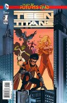 Teen Titan Futures End #1 (3d Cover) - Wil Pfeifer, Andy Smith