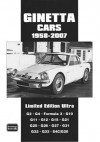 Ginetta Cars Limited 1958-2007 Limited Edition Ultra - R. Clarke