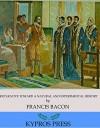 Preparative toward a Natural and Experimental History - Francis Bacon