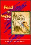Read to Write - Donald Morison Murray