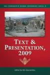 Text & Presentation, 2009 - Kiki Gounaridou