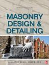 Masonry Design and Detailing Sixth Edition - Christine Beall