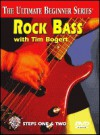 Ultimate Beginner Rock Bass: Steps One & Two, DVD - Tim Bogert