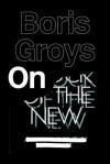 On the New - Boris Groys