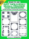 Ready-to-Use Art Nouveau Small Frames and Borders - Ted Menten, Ted Menten