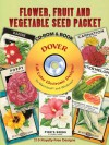 Flower, Fruit and Vegetable Seed Packet CD-ROM and Book - Carol Belanger Grafton