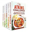 The Atkins Cookbook Box Set (5 in 1): Lose Weight and Feel Great with Over 150 Atkins-Approved Recipes (Dieting Plans for Weight Loss) - Grace Cooper, Sarah Benson, Carrie Bishop, Vicki Day Day, Eva Mehler