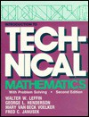 Introduction to Technical Mathematics, with Problem Solving - Walter W. Leffin, George L. Henderson, Mary Van Beck Voelker