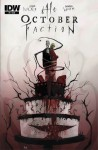 October Faction #6 Cover A Regular Damien Worm Cover - Steve Niles, Damien Worm