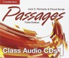 Passages Level 1 Class Audio CDs (3) - Jack C. Richards, Chuck Sandy