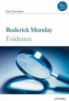 Evidence Core Text - Roderick Munday