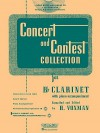 Concert and Contest Collection for Bb Clarinet (Rubank Educational Library) - H. Voxman