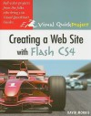 Creating a Web Site with Flash CS4: Visual QuickProject Guide - David Morris