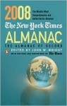 The New York Times Almanac 2008: The Almanac of Record - John W. Wright