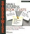 Streetwise Small Business Book Of Lists: Hundreds of Lists to Help You Reduce Costs, Increase Revenues, and Boost Your Profits - Gene Marks, Adams Media