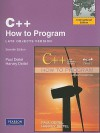 C++ How to Program, International Edition: Late Objects Version [With Access Code] - Paul J. Dietel, Harvey M. Deitel