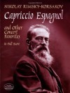 Capriccio Espagnol and Other Concert Favorites in Full Score (Dover Music Scores) - Nikolai Rimsky-Korsakov