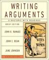 Writing Arguments: A Rhetoric with Readings - John D. Ramage, June Johnson, John C. Bean