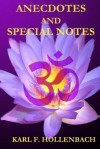 Anecdotes and Special Notes - Karl F. Hollenbach