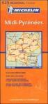 Midi Pyrenees Map - Michelin Travel Publications