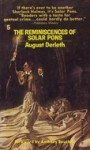 The Reminiscences of Solar Pons - August Derleth, Anthony Boucher, Robert Patrick