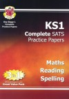 Maths, Reading, Spelling: KS1 Complete SATS Practice Papers - Richard Parsons