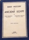 A brief history of Ancient Egypt - Zaky Iskander, Alexander Badawy