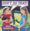 Don't Do That! How Not to ACT - Janine Amos