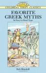 Favorite Greek Myths (Dover Children's Thrift Classics) - Bob Blaisdell, Children's Dover Thrift