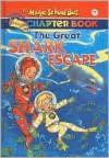 The Great Shark Escape (The Magic School Bus Chapter Book, #7) - Jennifer Johnston, Ted Enik, Joanna Cole, Bruce Degen