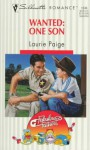 Wanted: One Son - Laurie Paige
