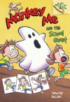 Monkey Me #4: Monkey Me and the School Ghost (A Branches Book) - Library Edition - Timothy Roland