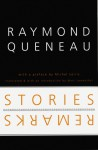 Stories and Remarks - Raymond Queneau, Marc Lowenthal, Michel Leiris