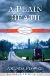 A Plain Death (Appleseed Creek Mystery Series #1) - Amanda Flower