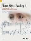Piano Sight-Reading 3/Dechiffrage Pour Le Piano 3/Vom-Blatt-Spiel Auf Dem Klavier 3: A Fresh Approach/Nouvelle Approche/Eine Erfrischend Neue Methode - John Kember