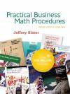 Practical Business Math Procedures Brief Edition with Student DVD, wsjinsert,BuMath Handbook - Jeffrey Slater